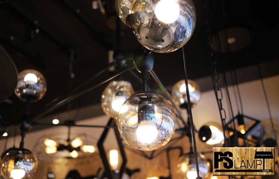 โคมไฟโมเดิร์น หลอดไฟไส้เอดิสัน โคมไฟระย้า ห้อย โคมเพดาน โคมไฟช่อ LOFT โคมไฟ เชียงใหม่
