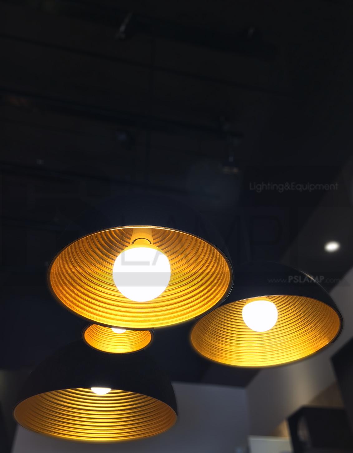 โคมไฟห้อย-โคมไฟเพดาน-โคมไฟ-LOFT-HELIK-600-BK