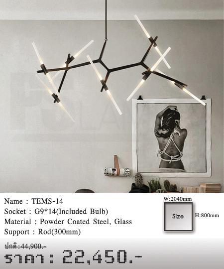 โคมเพดาน-โคมไฟโมเดิร์น-โคมไฟห้อย-TEMS-14