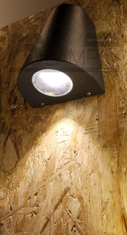 โคมติดผนัง โคมภายนอก โคมไฟ Outdoor OPTO-1-BK