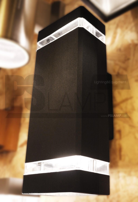โคมติดผนัง โคมภายนอก โคมไฟ Outdoor THEBOX-BK