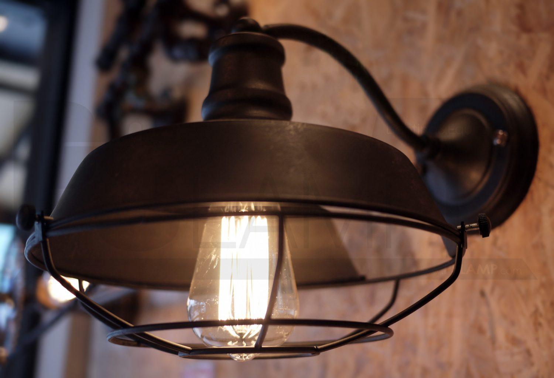 โคมไฟวินเทจ ขายโคมไฟ โคมไฟโมเดิร์น ร้านขายโคมไฟ โคมไฟราคาถูก RUST-WALL