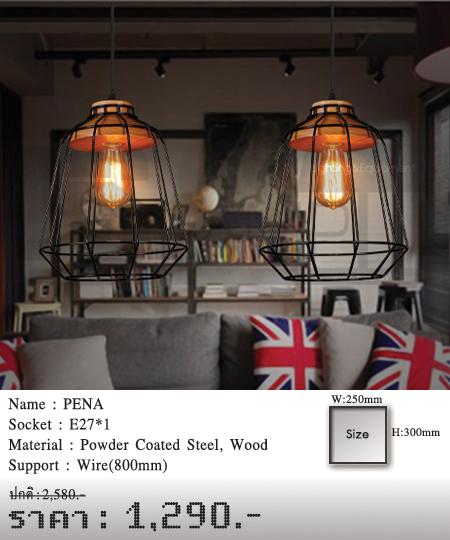 โคมไฟวินเทจ-ขายโคมไฟ-ร้านขายโคมไฟ-โคมไฟโมเดิร์น-โคมไฟ-Loft-PENA