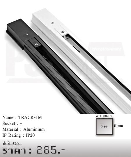 โคมไฟส่อง-แทรกไลท์-Tracklight-สปอร์ตไลท์--ขายโคมไฟ-ร้านขายโคมไฟ-โคมไฟโมเดิร์น-TRACK-1M