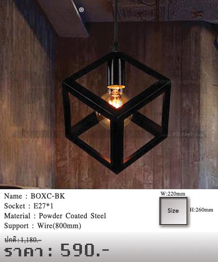 โคมไฟเพดาน-โคมไฟวินเทจ-โคมไฟโมเดิร์น-ร้านขายโคมไฟ-ขายโคมไฟ-BOXC-BK