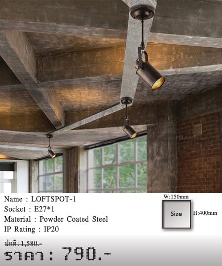 โคมไฟเพดาน-โคมไฟวินเทจ-โคมไฟโมเดิร์น-ร้านขายโคมไฟ-ขายโคมไฟ-LOFTSPOT-1