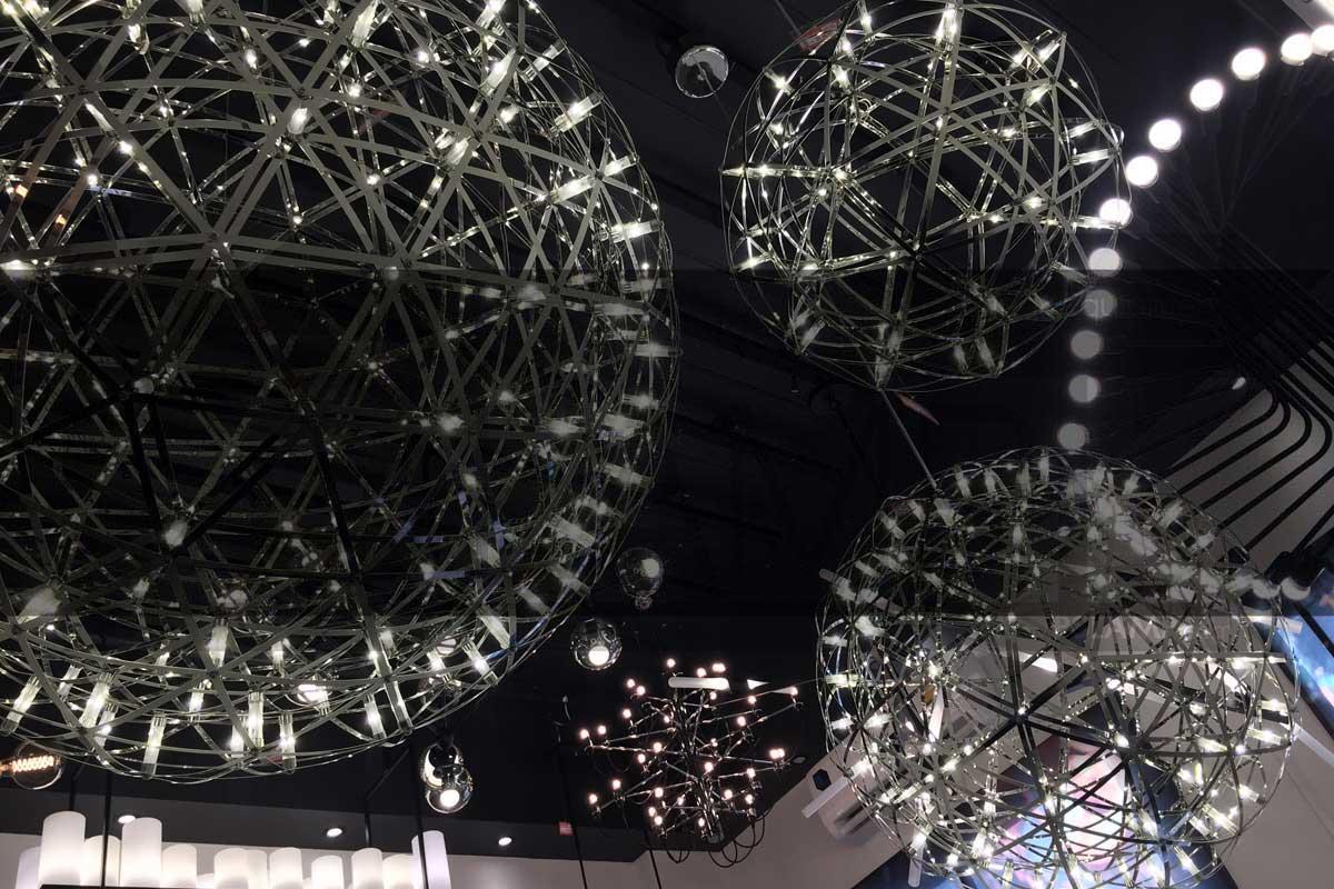 โคมไฟระย้า โคมไฟเพดาน