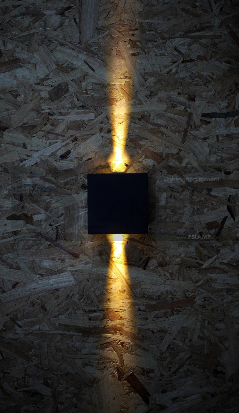 โคมติดผนัง โคมภายนอก โคมไฟผนัง โคมไฟกิ่งภายนอก Outdoor LUTON-BK