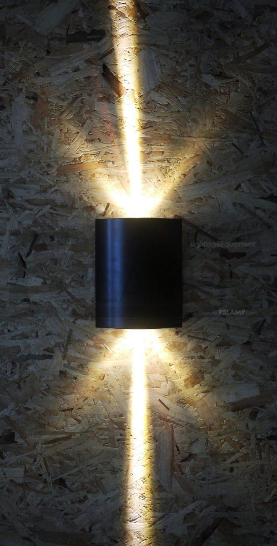 โคมติดผนัง โคมภายนอก โคมไฟผนัง โคมไฟกิ่งภายนอก Outdoor SHIFT-BK