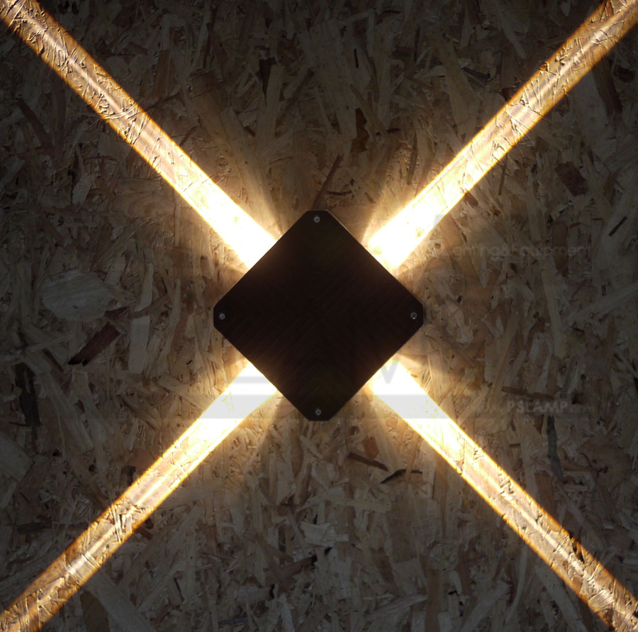 โคมติดผนัง โคมภายนอก โคมไฟผนัง โคมไฟกิ่งภายนอก Outdoor TENA-BK