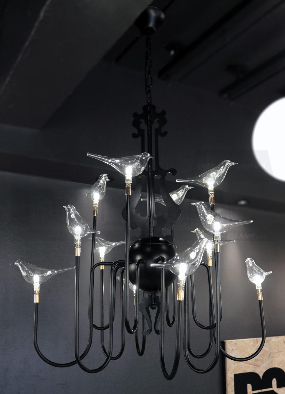 โคมไฟห้อย โคมไฟแขวน โคมไฟลอฟท์ โคมไฟระย้า MOJITO-BIRD