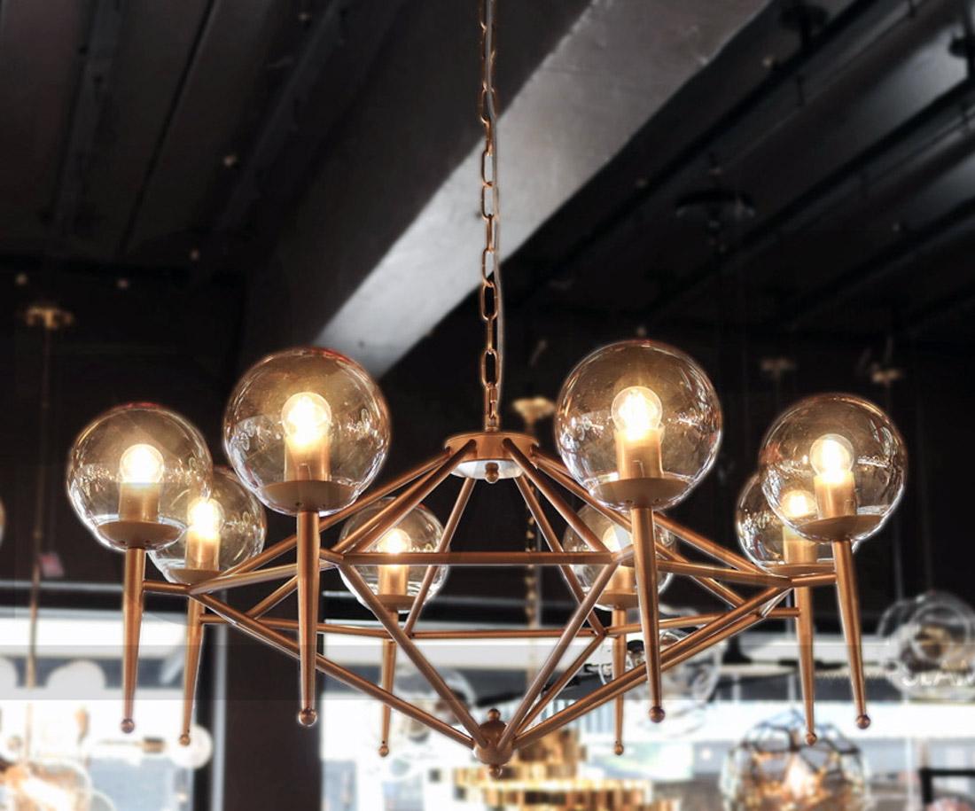 โคมไฟห้อย โคมไฟแขวน โคมไฟลอฟท์ โคมไฟระย้า ROMANCE-GD