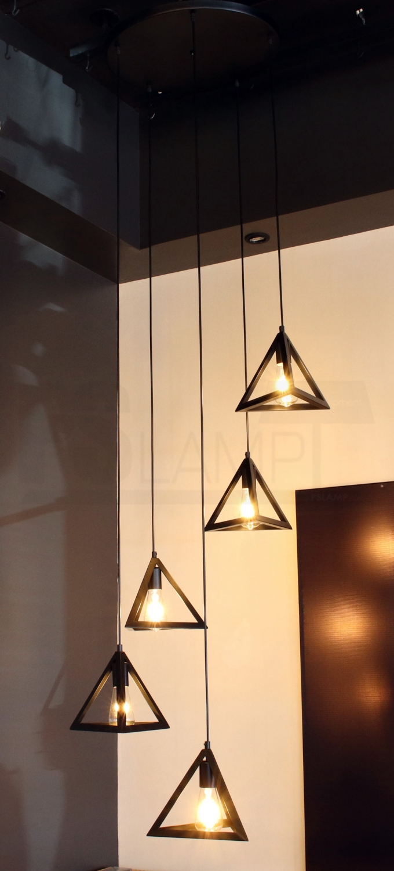 โคมไฟห้อย โคมไฟแขวน ร้านโคมไฟ ร้านขายโคมไฟ TRIX-BK-T5