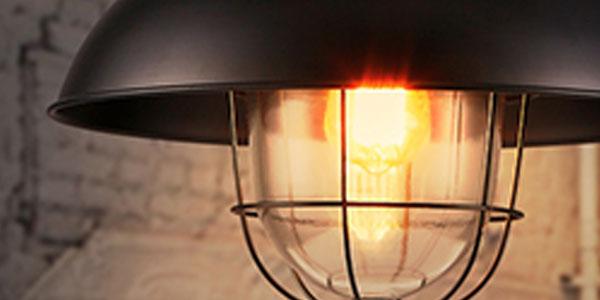 โคมไฟสีดำ-วินเทจ-ลอฟ์ท