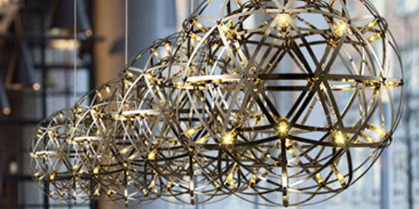 โคมไฟสีทอง โครเมี่ยม โรสโกลด์ พิงค์โกลด์