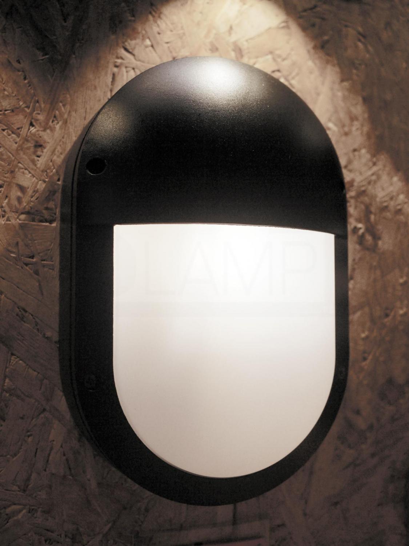 โคมไฟผนัง-โคมไฟหัวเสา-โคมไฟภายนอก-โคมไฟโมเดิร์น-OBBY-BK