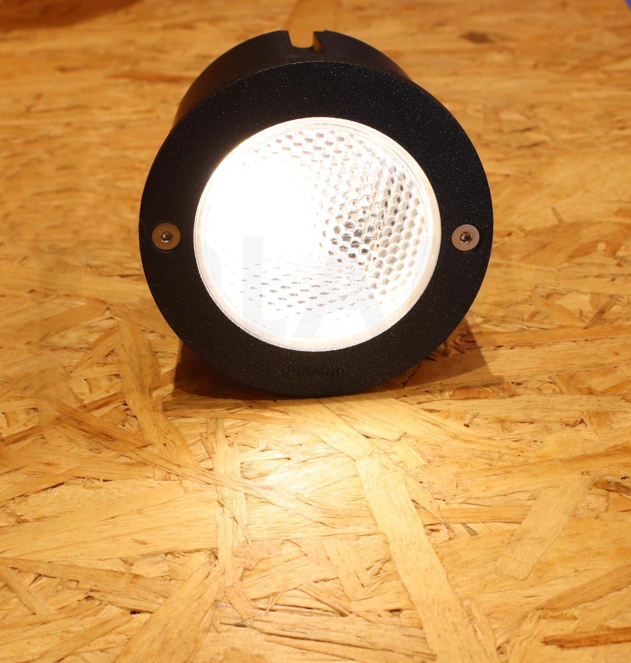 โคมไฟฝังผนัง Step Light โคมไฟภายนอก โคมไฟติดผนัง DOT-ROUND-BLACK