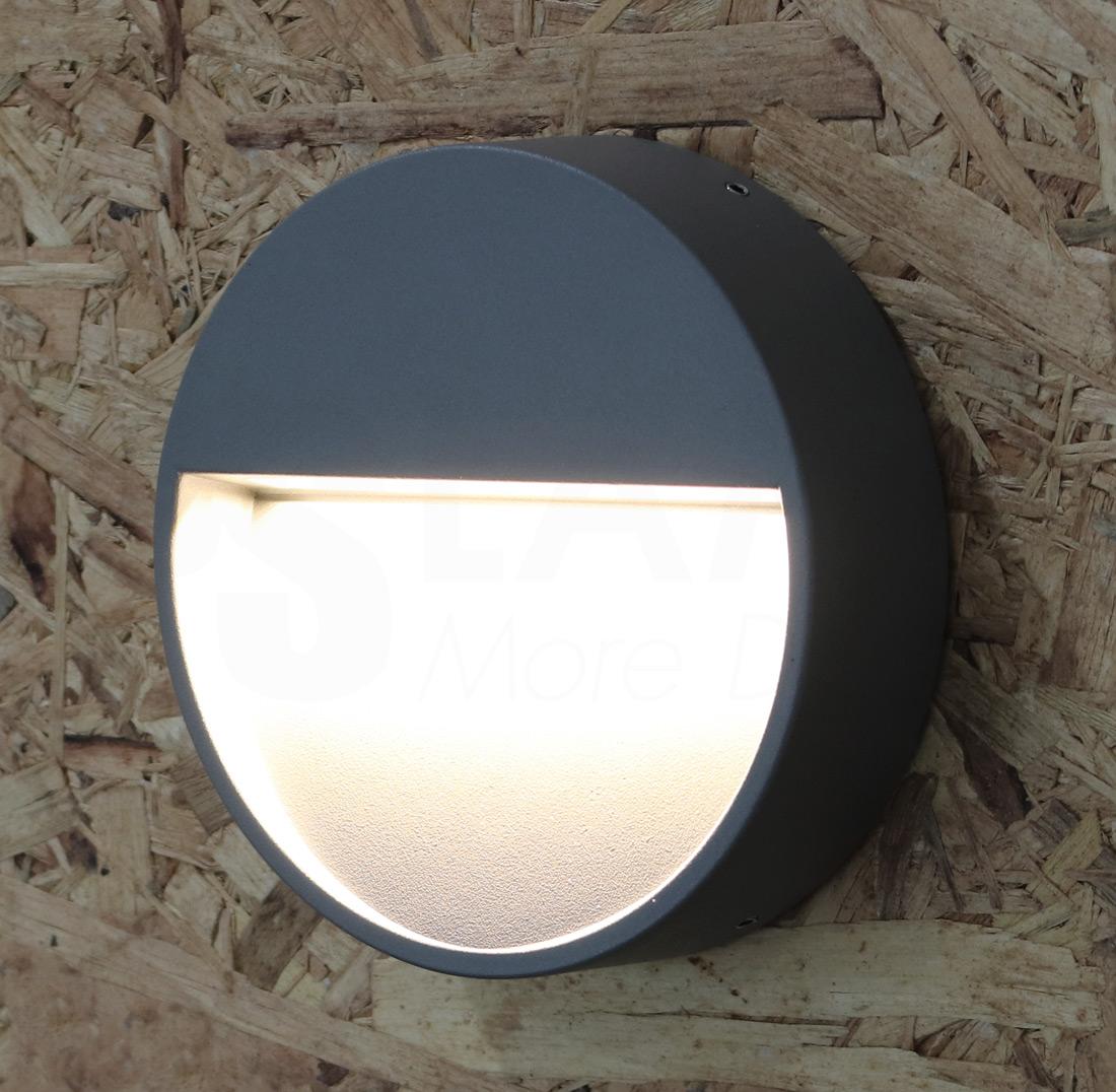 โคมไฟผนัง โคมไฟหัวเสา โคมไฟภายนอก โคมไฟโมเดิร์น CIRBOX-GY