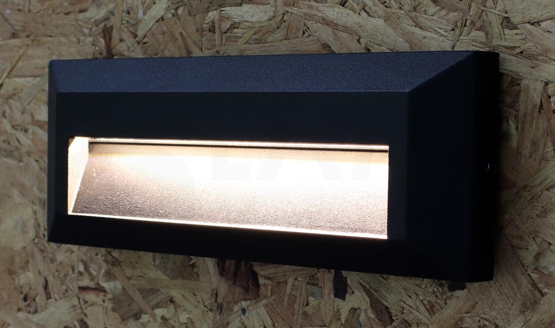 โคมไฟ Steplight โคมไฟติดขั้นบันได โคมไฟผนัง โคมไฟภายนอก STEPBOX-BK