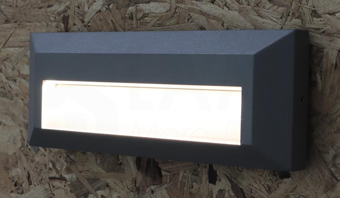 โคมไฟ Steplight โคมไฟติดขั้นบันได โคมไฟผนัง โคมไฟภายนอก STEPBOX-GY