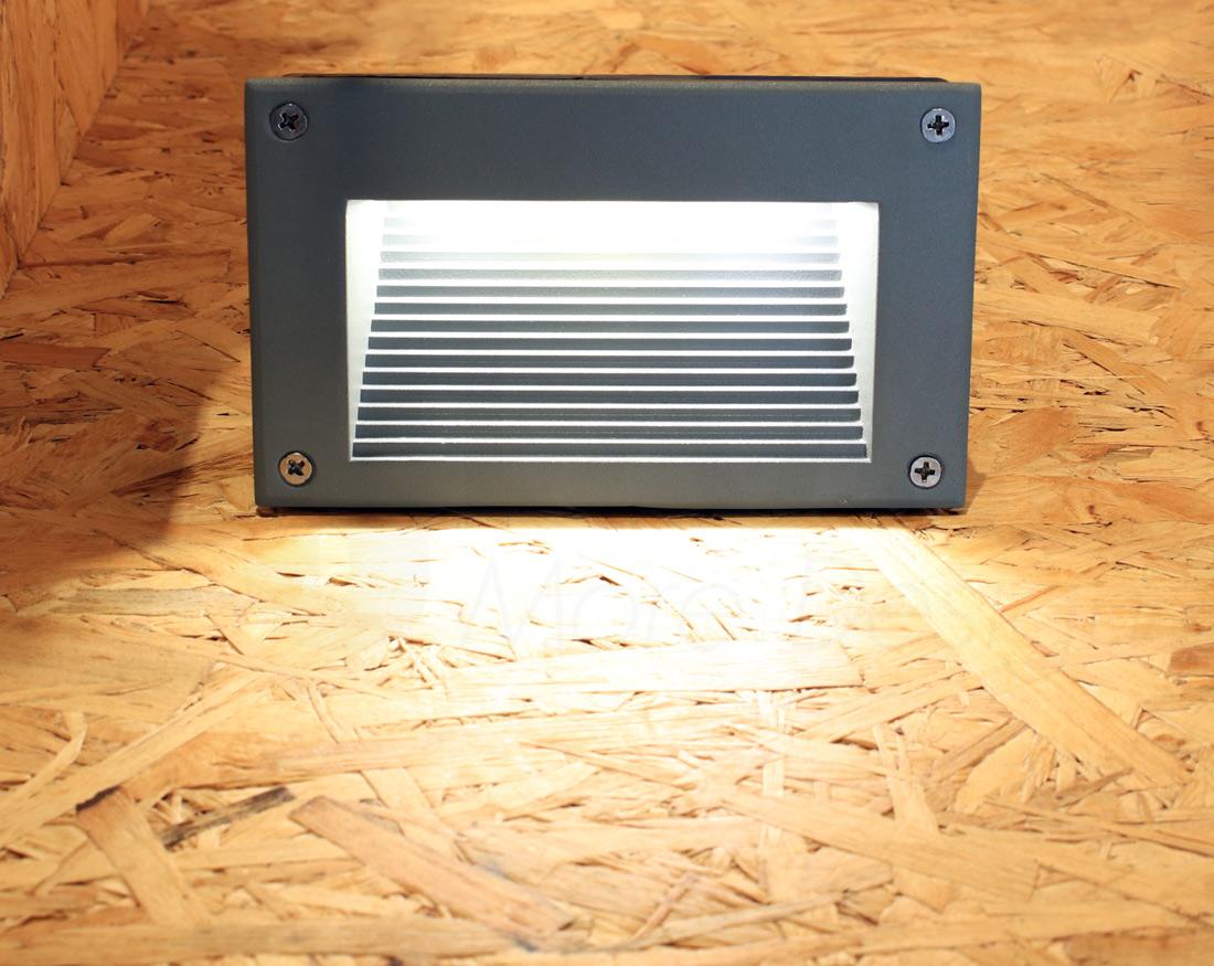 โคมไฟ Steplight โคมไฟฝังผนัง โคมไฟติดขั้นบันได โคมไฟติดผนัง STEP-GY